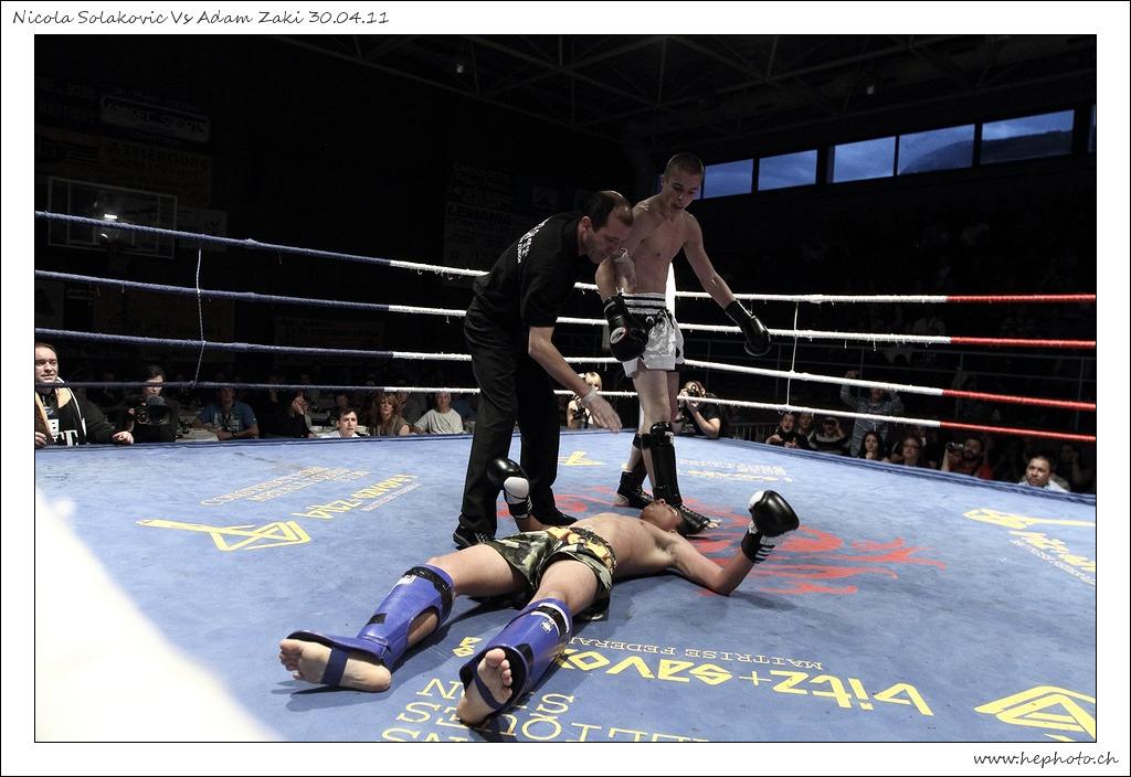 Demolition - Nicolasola Kovic vs Adam Zaki