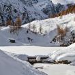 Lac Bleu en hiver