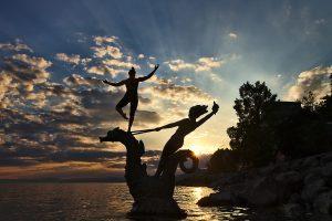 Equilibre à Vevey